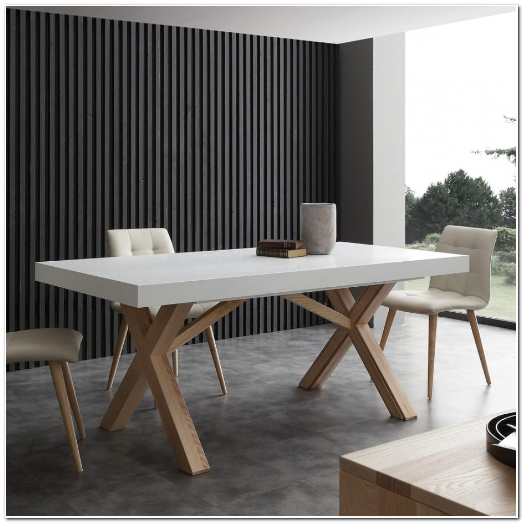 Table Salle A Manger Extensible Bois