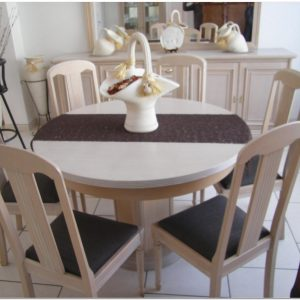 Table Salle A Manger Extensible Ronde