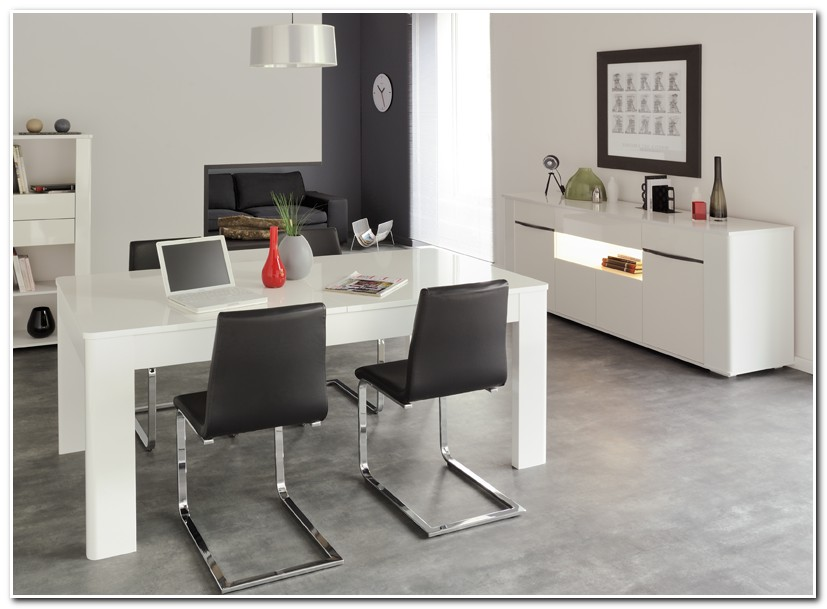 Table Salle A Manger Ovale Blanche