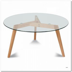 Table Salle A Manger Ronde Scandinave