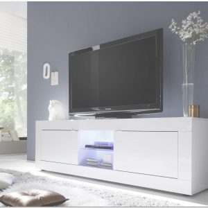 Buffet Blanc Laqu Fly. Top Excellent Meuble Tv Laqu Blanc But Throughout Meuble Bas Laqué Blanc Fly