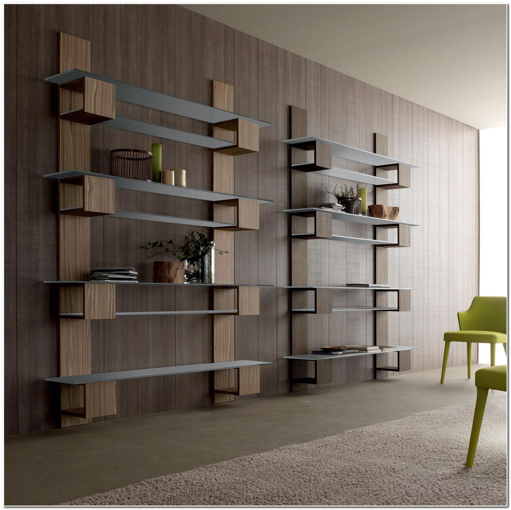 Meuble Bibliotheque Design Contemporain