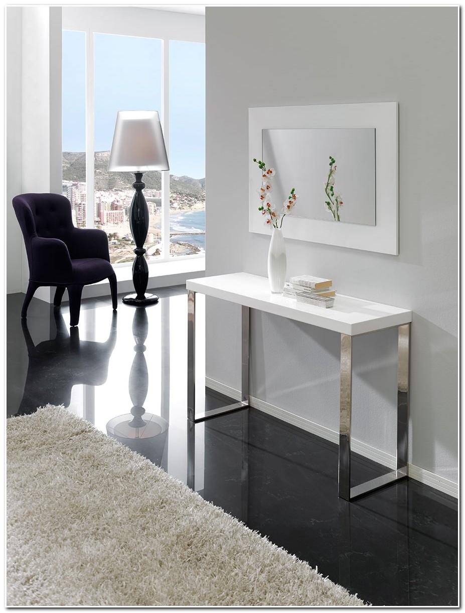 Déco D Entrée Maison meuble console d'entrée blanc - meuble : idées de décoration