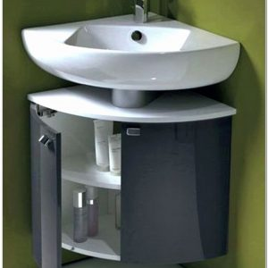 Meuble Lave Main D'angle Wc