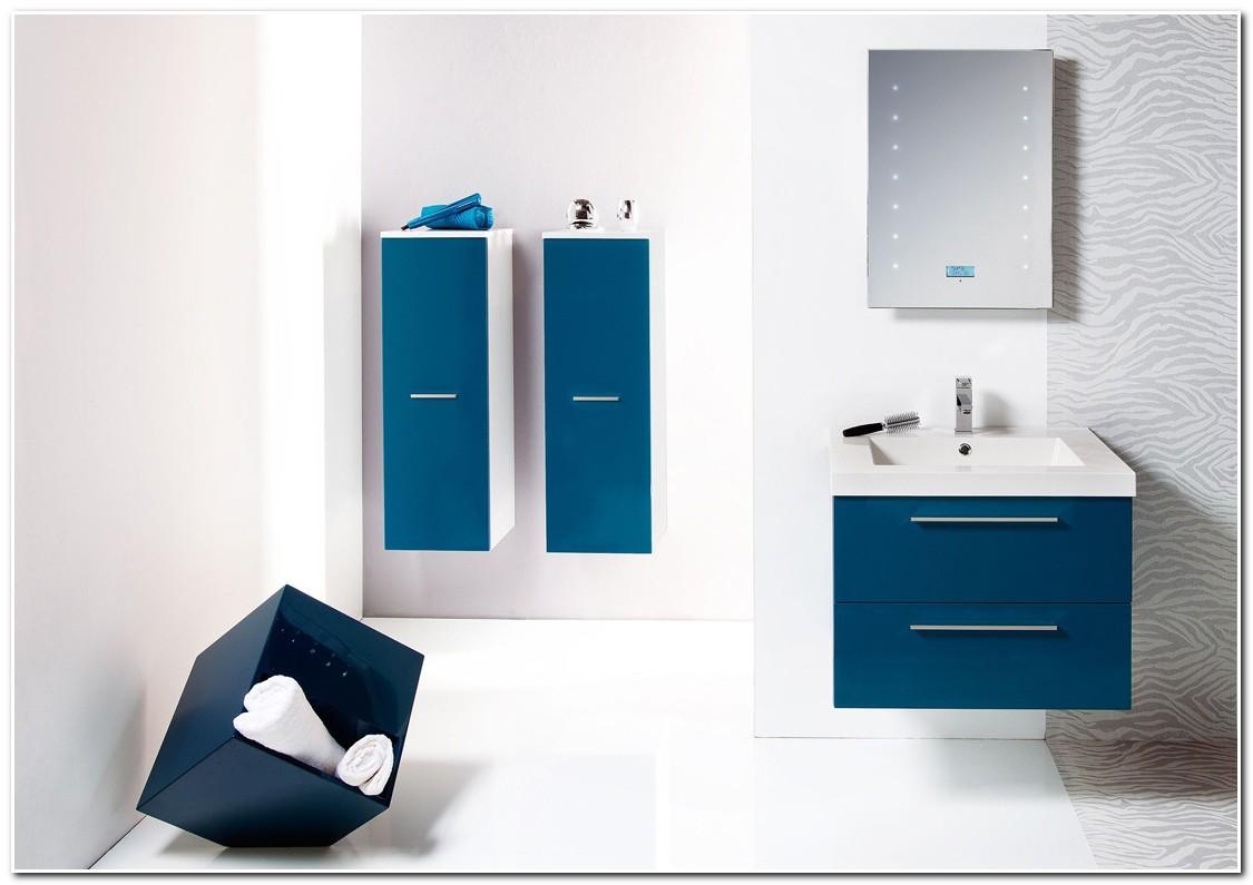 Meuble Salle De Bain Bleu Marine - Meuble : Idées de Décoration de ...
