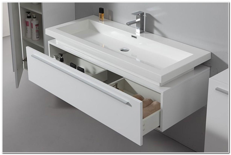 Grand Meuble Salle De Bain Une Vasque