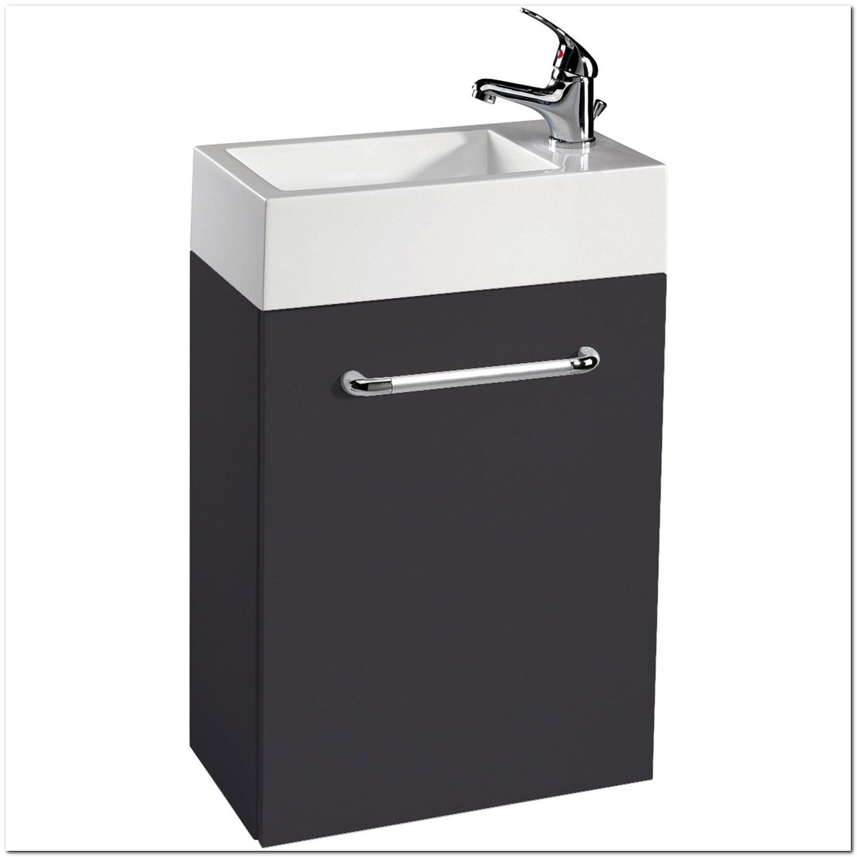 Lave Main Avec Meuble Noir