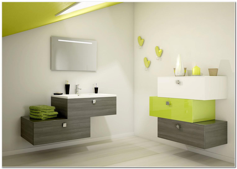 Meuble Salle De Bain Vert Olive