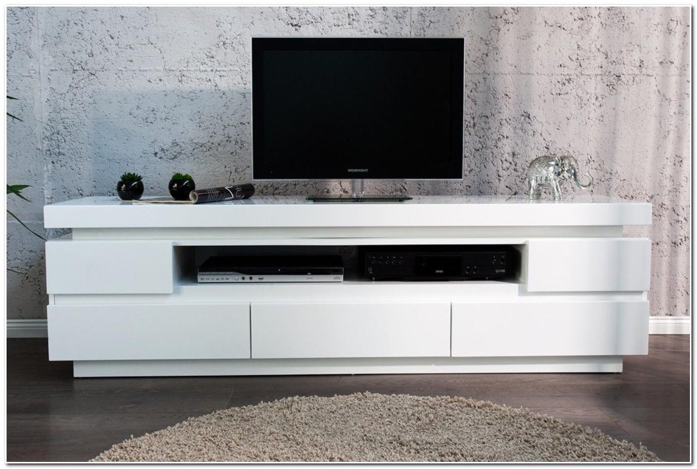Meuble Télé Blanc Laqué Conforama