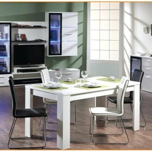 Chaises Blanches Salle A Manger Conforama