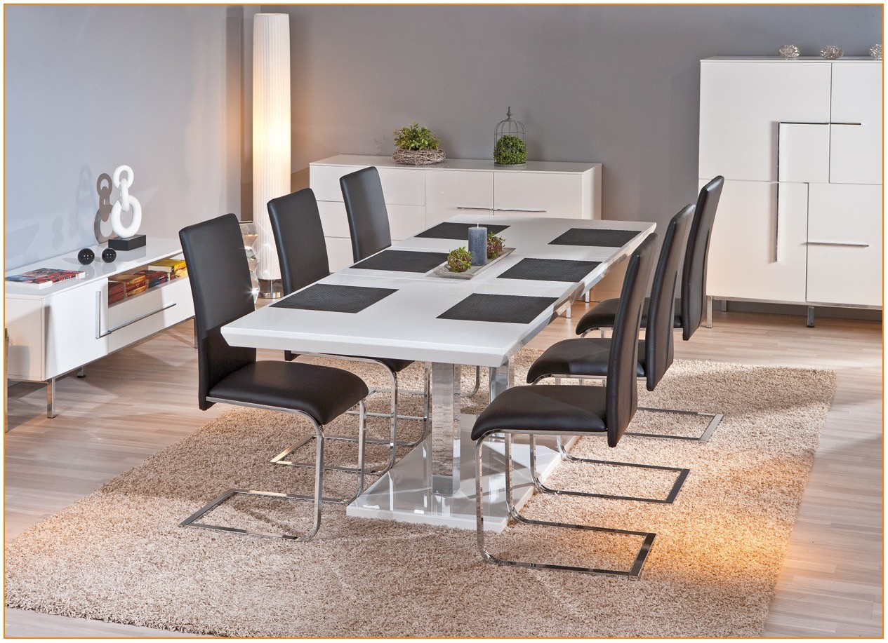 Table De Salle A Manger Extensible Design