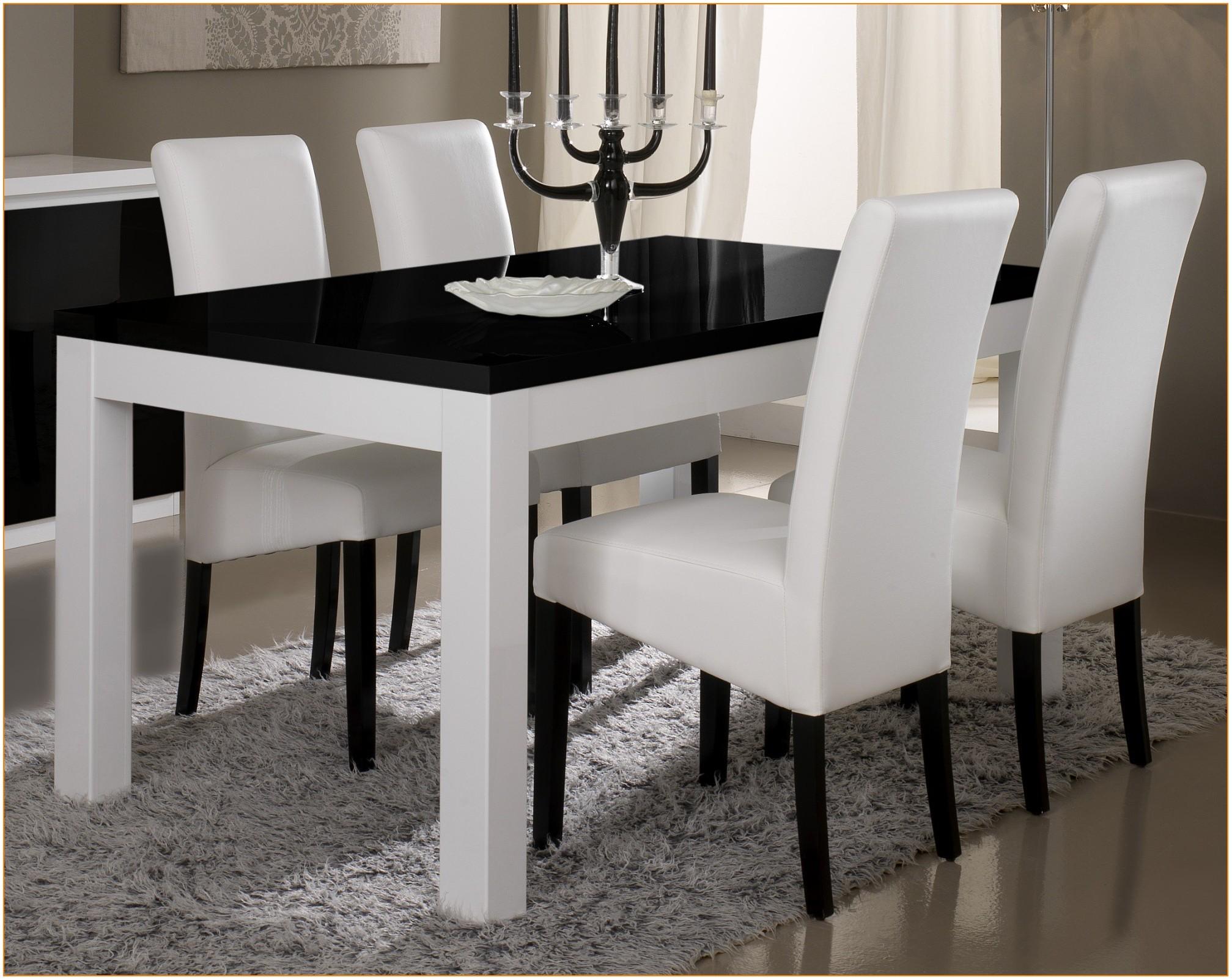 Table De Salle A Manger Moderne Blanche