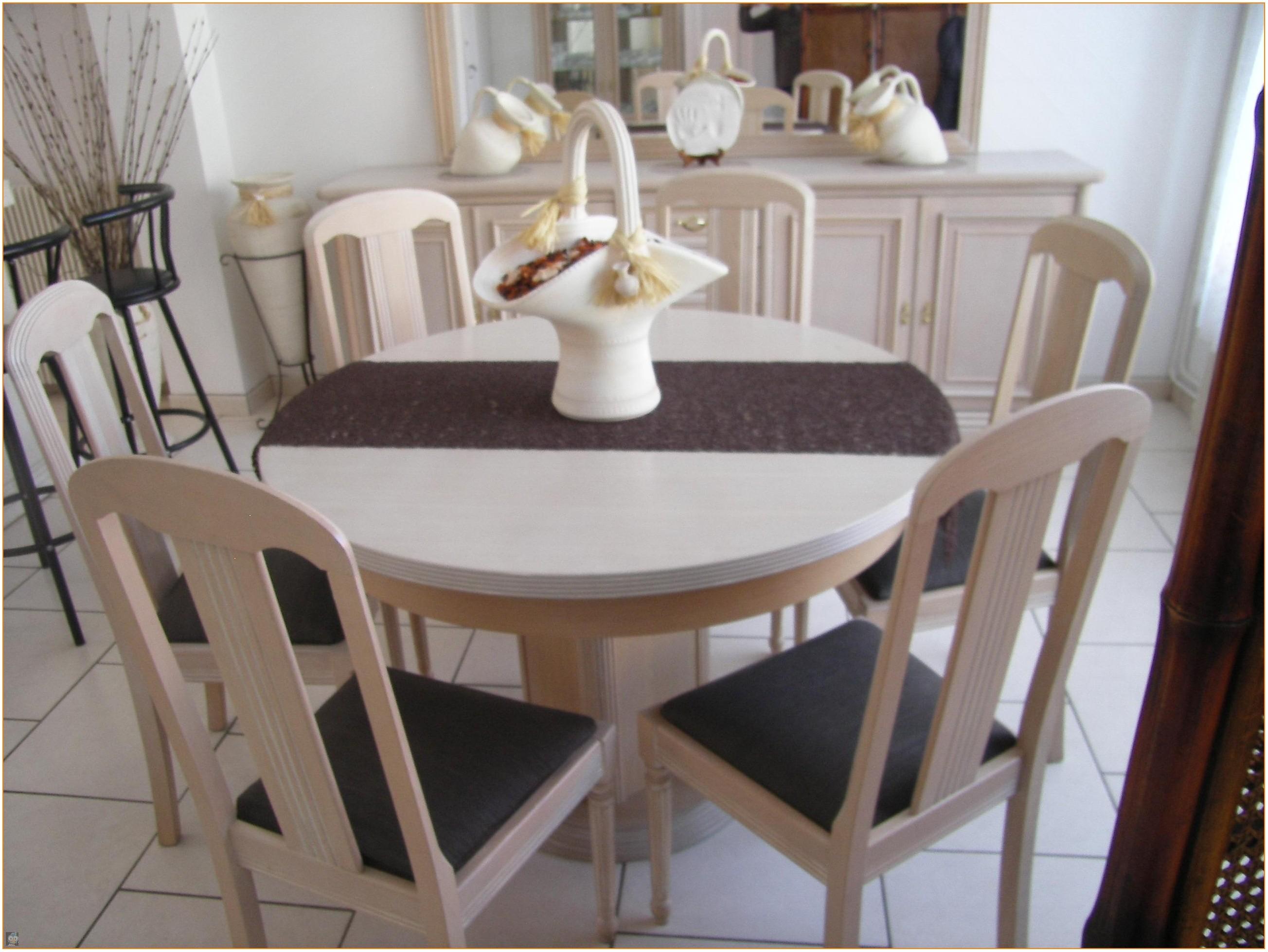 Table De Salle A Manger Moderne Ronde