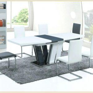 Table Salle à Manger Blanche Extensible