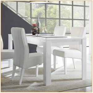 Table Salle A Manger Blanc