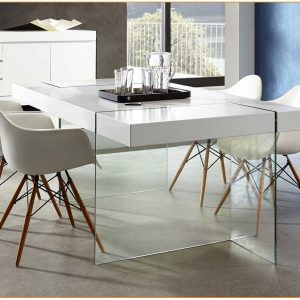 Table Salle A Manger Blanche Design