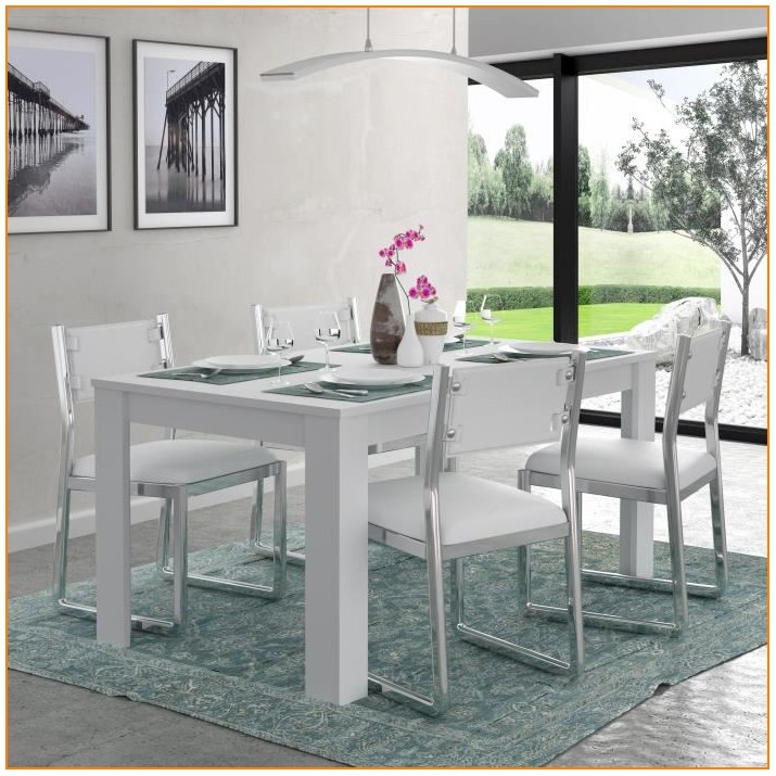 Table Salle A Manger Blanche