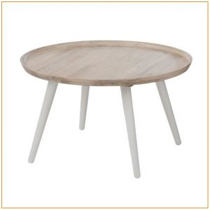 Table Salle A Manger Ronde Extensible Bois