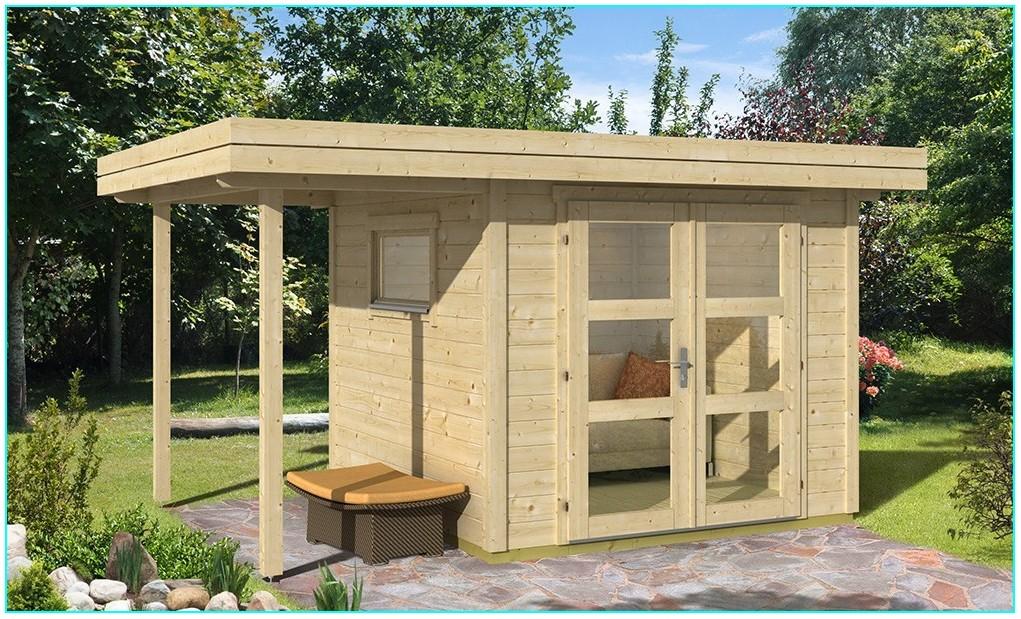 Construire Un Abri De Jardin Toit Plat