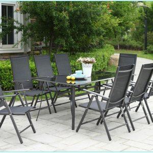 Ensemble Table Et Chaise De Jardin 10 Personnes