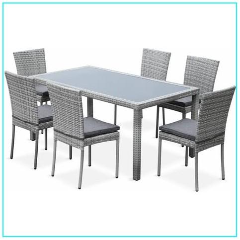 Ensemble Table Et Chaise De Jardin Auchan